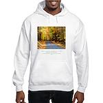 Buddha Road to Truth Quote Hooded Sweatshirt