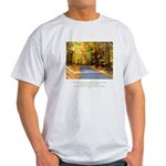 Buddha Road to Truth Quote Light T-Shirt