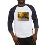 Buddha Road to Truth Quote Baseball Jersey