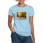 Buddha Road to Truth Quote Women's Light T-Shirt