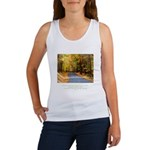 Buddha Road to Truth Quote Women's Tank Top