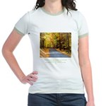 Buddha Road to Truth Quote Jr. Ringer T-Shirt
