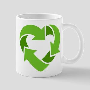Recycling Heart Mug