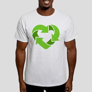 Recycling Heart Light T-Shirt