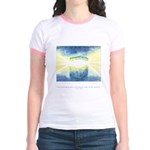 Receive Gifts Natural Quote Jr. Ringer T-Shirt