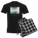 Receive Gifts Natural Quote Men's Dark Pajamas