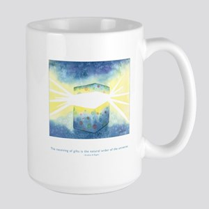 Receive Gifts Natural Quote Large Mug