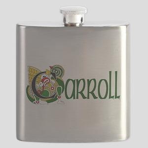Carroll Celtic Dragon Flask