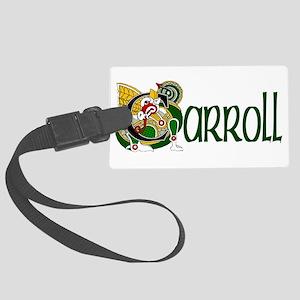 Carroll Celtic Dragon Large Luggage Tag