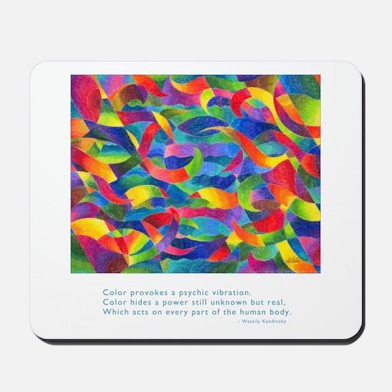 Color Power Quote Mousepad