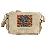 Color Power Quote Messenger Bag