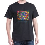Color Power Quote Dark T-Shirt