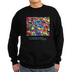 Color Power Quote Sweatshirt (dark)
