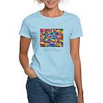 Color Power Quote Women's Light T-Shirt