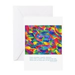 Color Power Quote Greeting Card