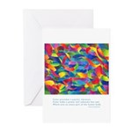 Color Power Quote Greeting Cards (Pk of 20)