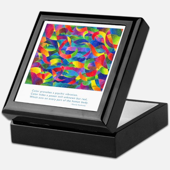 Color Power Quote Keepsake Box