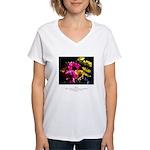 Language of Dreams Quote Women's V-Neck T-Shirt