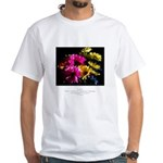 Language of Dreams Quote White T-Shirt