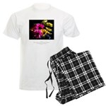 Language of Dreams Quote Men's Light Pajamas