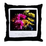 Language of Dreams Quote Throw Pillow