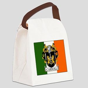Carroll Arms Flag Canvas Lunch Bag