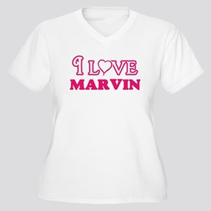 I Love Marvin Plus Size T-Shirt