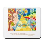 Magical World Quote Mousepad