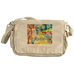 Magical World Quote Messenger Bag