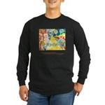 Magical World Quote Long Sleeve Dark T-Shirt