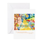 Magical World Quote Greeting Cards (Pk of 10)