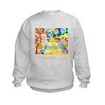 Magical World Quote Kids Sweatshirt