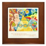 Magical World Quote Framed Tile