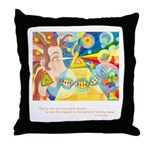 Magical World Quote Throw Pillow