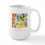 Magical World Quote Large Mug