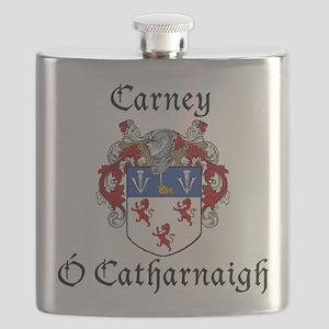 Carney Irish/English Flask