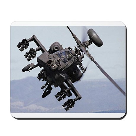 Apache Attack Helicopter Mousepad