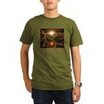 Buddha Candle Quote Organic Men's T-Shirt (dark)