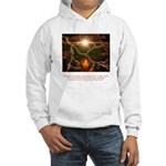 Buddha Candle Quote Hooded Sweatshirt