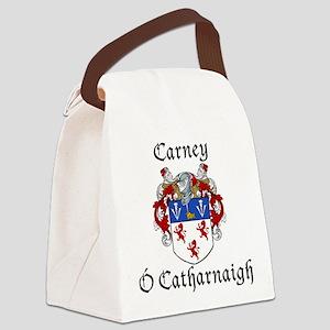 Carney Irish/English Canvas Lunch Bag