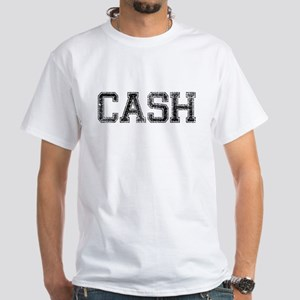 CASH, Vintage White T-Shirt