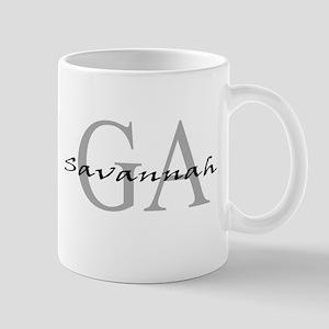 Savannah thru GA Mug