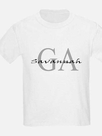 Savannah thru GA Kids T-Shirt