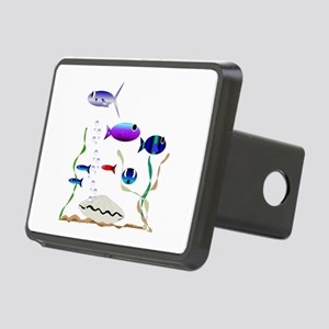 Swim With the Fishes Rectangular Hitch Cover