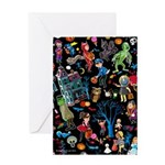 Halloween Graphic Greeting Cards