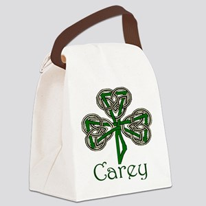 Carey Shamrock Canvas Lunch Bag