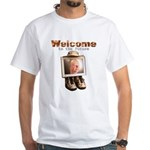 Welcome to the Future White T-Shirt