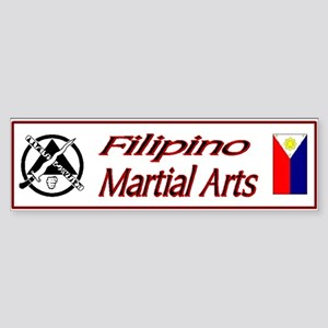 Filipino Martial Arts Bumper Sticker