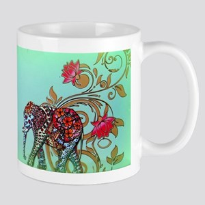 Indian Elephant Mugs