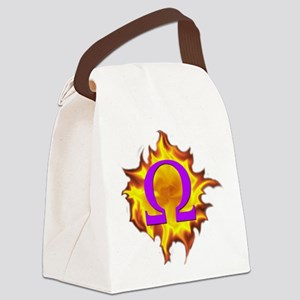 We are Omega! Canvas Lunch Bag